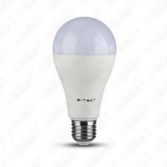 V-TAC VT-2015 Lampadina LED E27 15W A65 2700K (Box 3 pezzi) - SKU 2819
