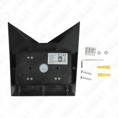 V-TAC VT-825 Lampada LED da Muro a Tasca 5W Colore Nero 3000K IP65 - SKU 8282