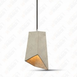 Pendant Light Concrete+Lampshade 155/155