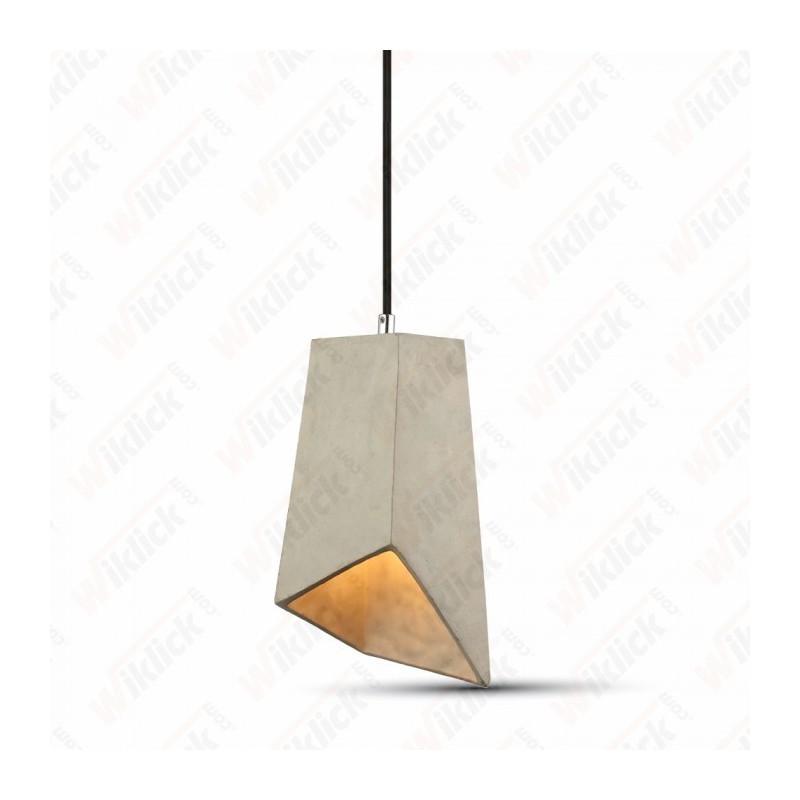 Pendant Light Concrete+Lampshade 155/155
