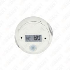 V-TAC VT-836 Lampada LED da Muro Sferica 6W Doppio Fascio Luminoso Colore Bianco 3000K IP65 - SKU 8301