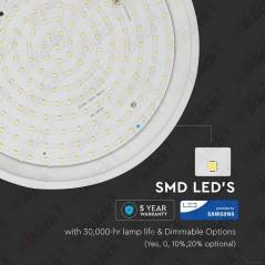 V-TAC PRO VT-12SS Plafoniera LED Chip Samsung Rotonda 12W con Sensore di Movimento a Microonde Colore Bianco 4000K - SKU 821