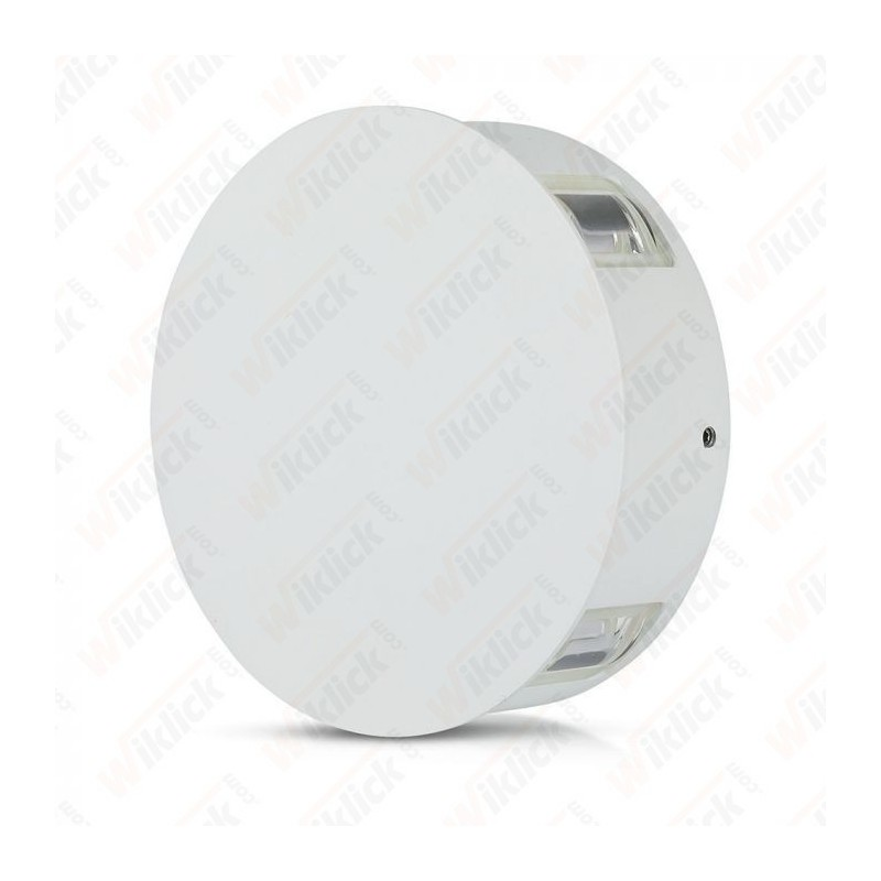 V-TAC VT-706 Lampada LED da Muro Rotondo 4W Colore Bianco 3000K IP65 - SKU 8213