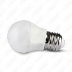 V-TAC SMART HOME VT-5124 Lampadina LED E27 5W G45  Google Home e Amazon Alexa Smart RGB e 3 in 1 Dimmerabile - SKU 2755