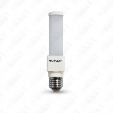 V-TAC VT-2046 LAMPADINA LED E27 6W PL A TUBO LUCE BIANCO CALDO