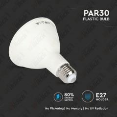 V-TAC PRO VT-230 Lampadina LED Chip Samsung E27 11W PAR30 4000K - SKU 154