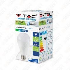 V-TAC PRO VT-215 Lampadina LED Chip Samsung E27 15W A65 3000K - SKU 159
