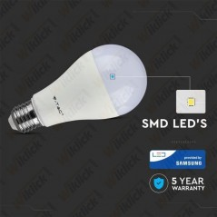 V-TAC PRO VT-217 Lampadina LED Chip Samsung E27 17W A65 4000K - SKU 163