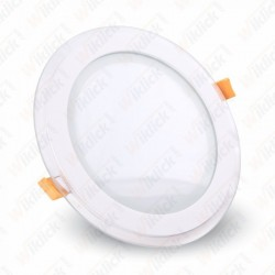18W LED Panel Downlight Glass - Round 3000K