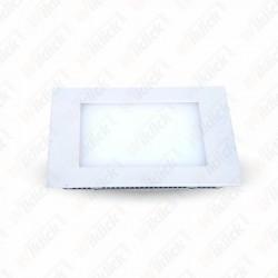 8W LED Panel Downlight - Square 6000K               W/O Driver