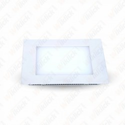 8W LED Panel Downlight - Square 6000K               W/O Driver
