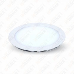 8W LED Panel Downlight - Round 6000K                W/O Driver