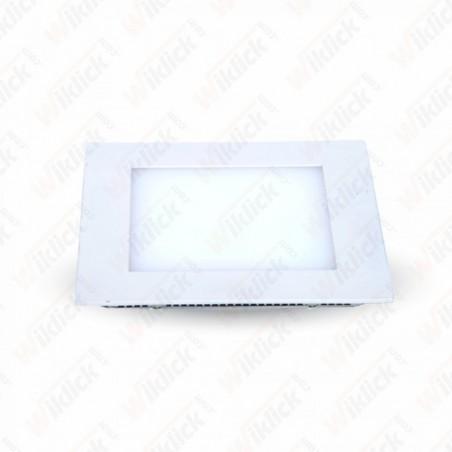 15W LED Panel Downlight - Square 6000K             W/O Driver