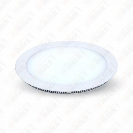 15W LED Panel Downlight - Round 6000K             W/O Driver