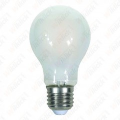 V-TAC VT-1934 Lampadina LED E27 4W A60 Filamento Satinato 4000K - SKU 4487