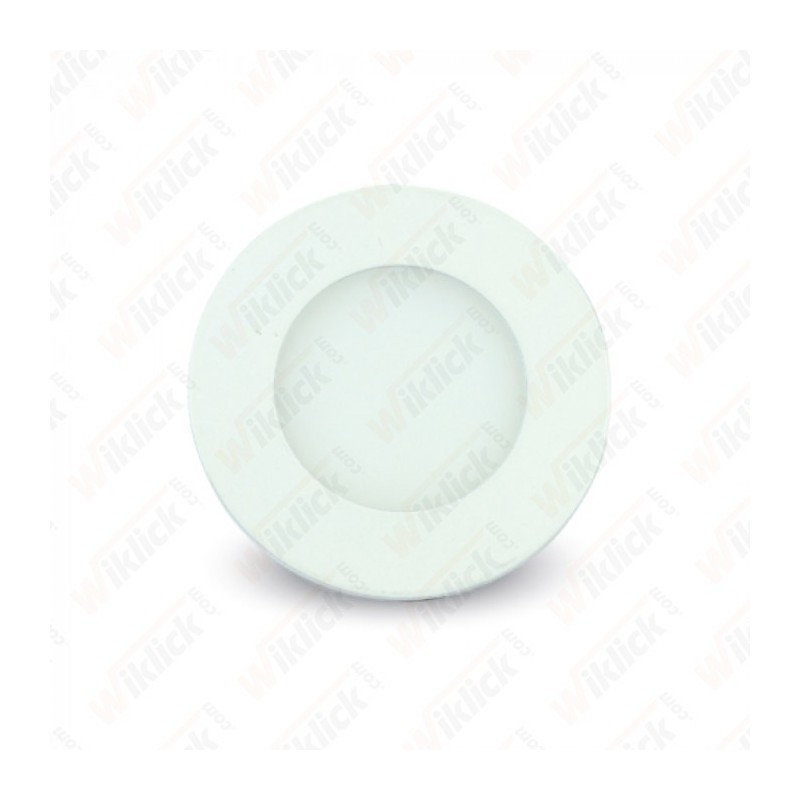 3W LED Premium Panel Downlight - Round 4000K - NEW