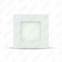 3W LED Premium Panel Downlight - Square 3000K - NEW