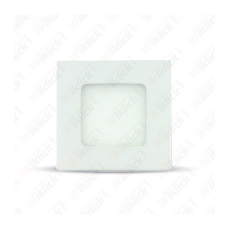 3W LED Premium Panel Downlight - Square 3000K - NEW