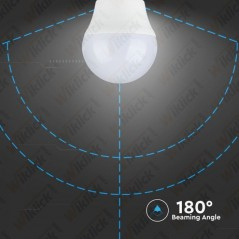 V-TAC VT-2166 Lampadina LED E27 5,5W G45 2700K (Blister 2 Pezzi) - SKU 7360