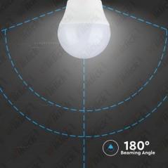 V-TAC VT-2176 Lampadina LED E27 5,5W G45 2700K (Box 3 pezzi) - SKU 7362