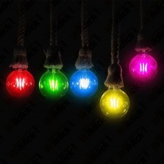 V-TAC VT-2132 Lampadina LED E27 2W G45 Filamento Colore Blu - SKU 7412