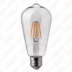 V-TAC VT-2105D Lampadina LED E27 4W ST64 Filamento 2700K - SKU 7414