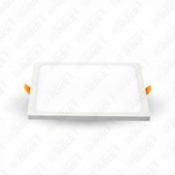 8W LED Frameless Panel Light Square 4500K