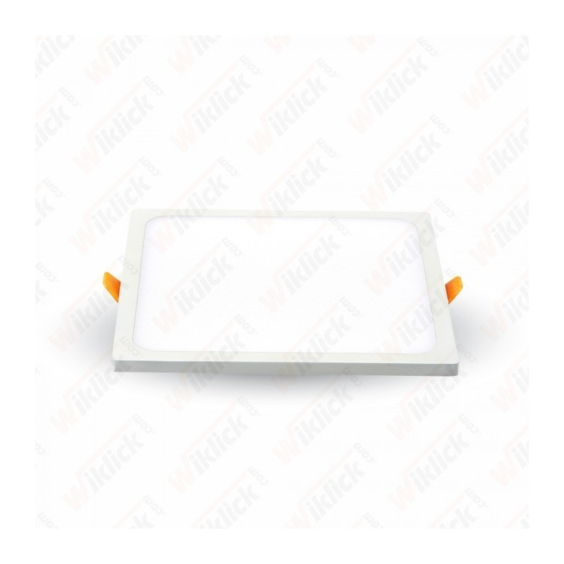 8W LED Frameless Panel Light Square 4500K