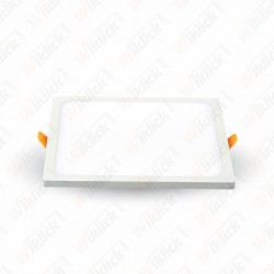 22W LED Slim Panel Light Square 6400K
