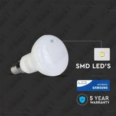 V-TAC PRO VT-250 Lampadina LED Chip Samsung E14 6W R50 3000K - SKU 138
