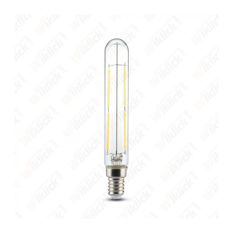 V-TAC VT-2204 Lampadina LED a Filamento E14 4W T20 Vetro Trasparente 2700K - SKU 2701