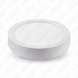 15W LED Surface Panel Downlight - Round 3000K