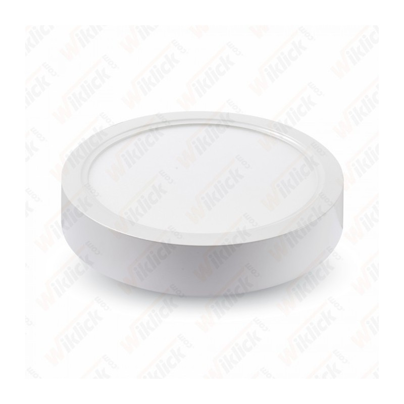 22W LED Surface Panel Downlight - Round 6000K