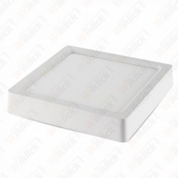 8W LED Surface Panel Downlight - Square 4500K