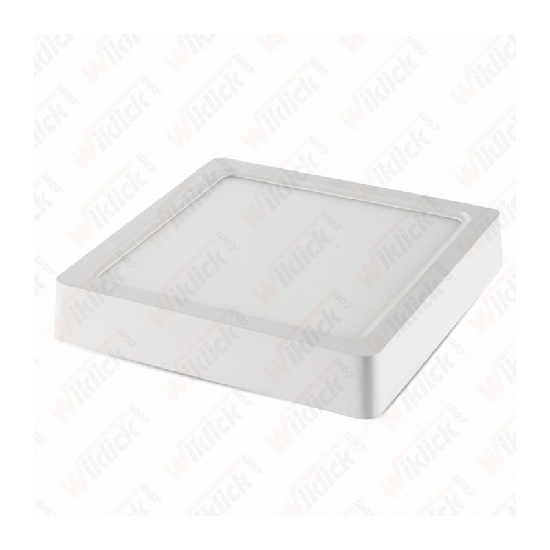 22W LED Surface Panel Downlight - Square 6000K
