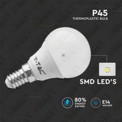 V-TAC VT-1880 Lampadina LED E14 5,5W P45 4000K - SKU 42511
