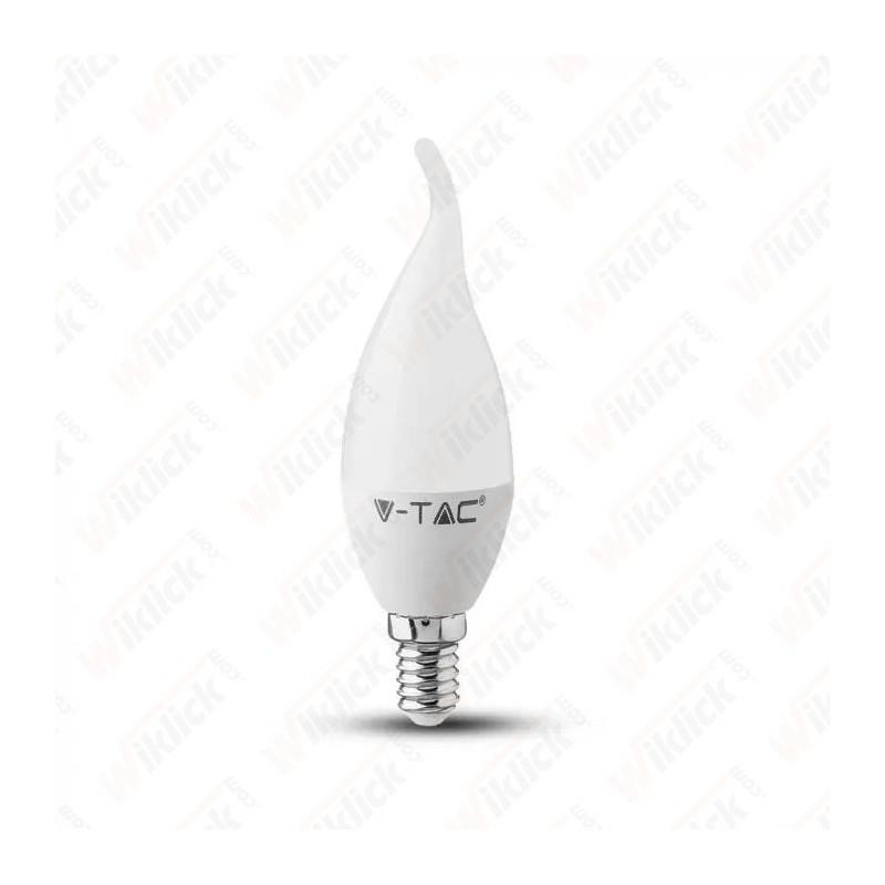V-TAC VT-1818TP Lampadina LED E14 4W Candela a Fiamma 6400K - SKU 4354