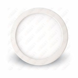 6W LED Surface Panel Downlight Premium - Round 6000K