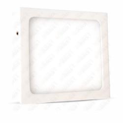 6W LED Surface Panel Downlight Premium - Square 6000K