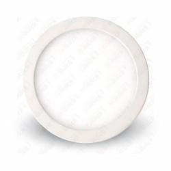 12W LED Surface Panel Downlight Premium - Round 4500K