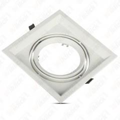 V-TAC VT-7221 Porta AR111 Singolo Orientabile Colore Bianco - SKU 3575