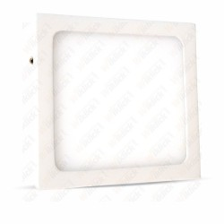 12W LED Surface Panel Downlight Premium - Square 3000K