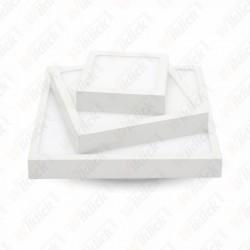 12W LED Surface Panel Downlight Premium - Square 3000K