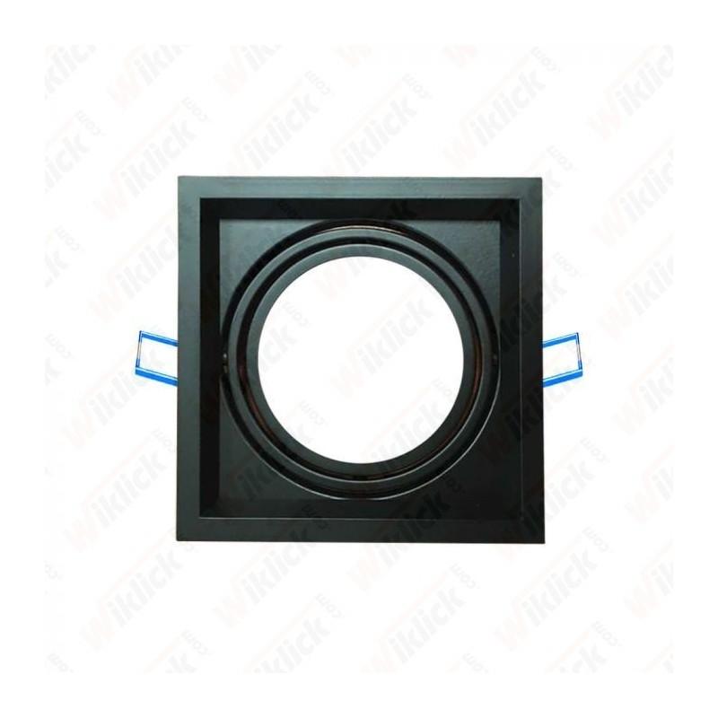 V-TAC VT-7221 Porta AR111 Singolo Orientabile Colore Nero - SKU 3581