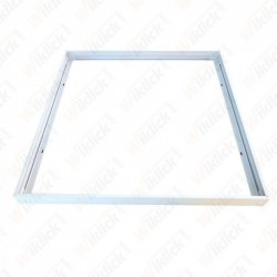 Surface Frame For 600x600mm Panel White