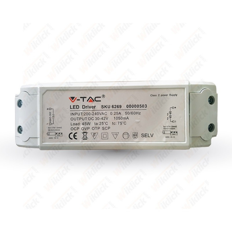45W Dimmable Driver 5 Years WarrantyA++
