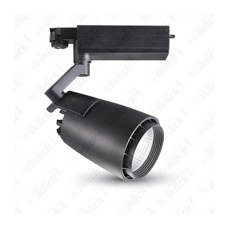 33W LED Track Light Black Body 5000K