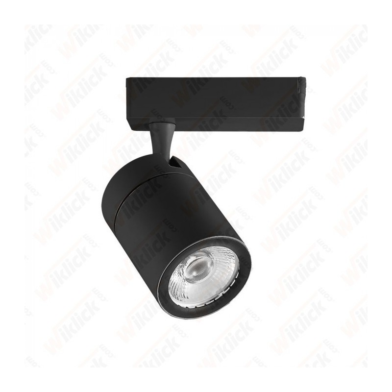 35W LED Track Light Black Body 3000K - NEW