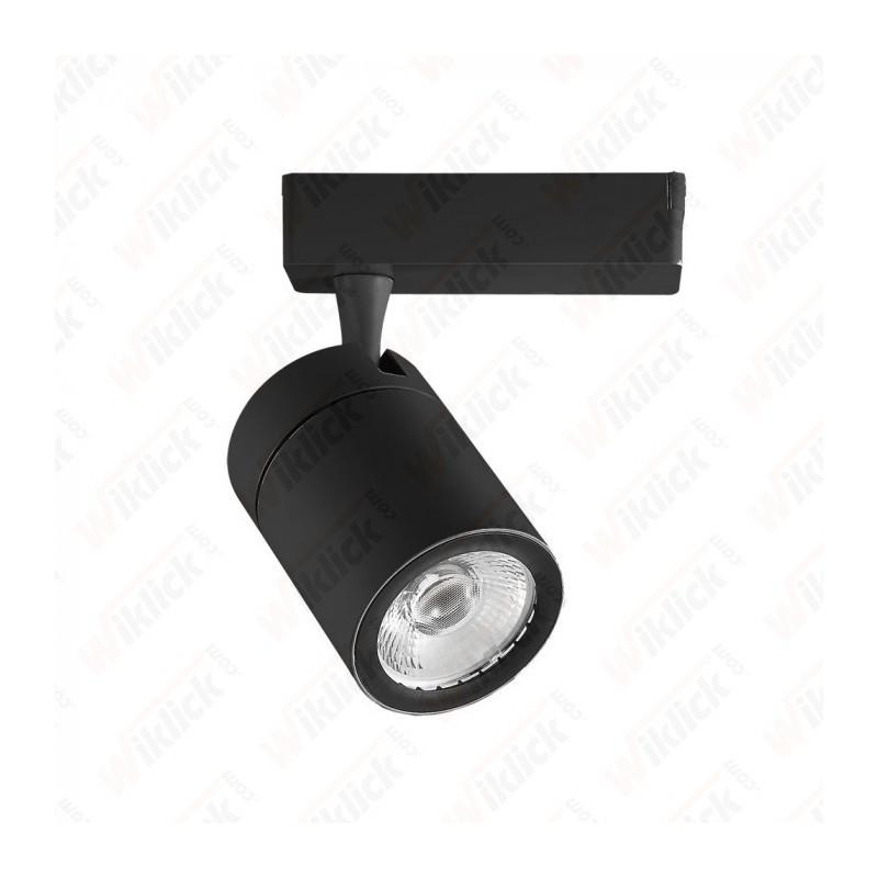 35W LED Track Light Black Body 3000K - NEW