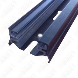 1 Meter Black 2 Core Track